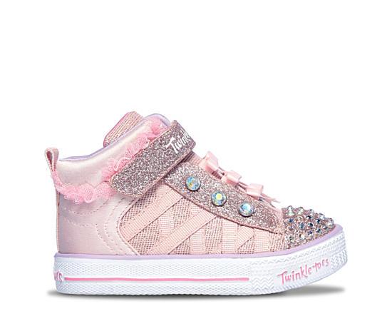 Girls Infant Shuffle Lite-adore-a-ball Light Up Sneaker