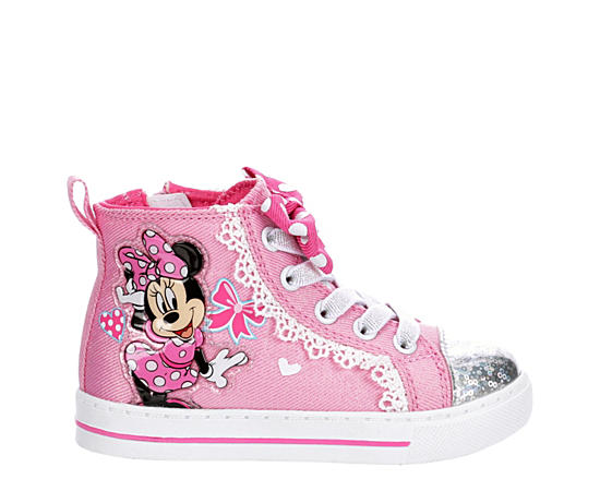 Girls Infant Minnie High Top Sneaker
