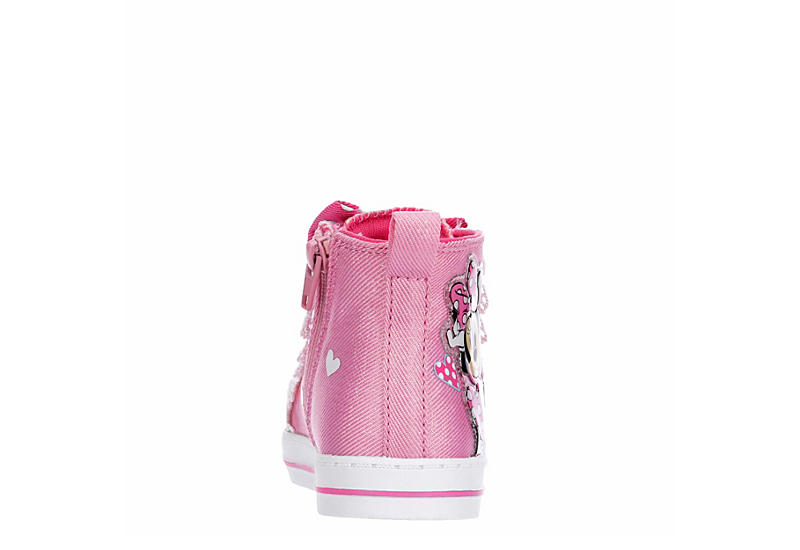 DISNEY Girls Infant Minnie Hi Top - PINK