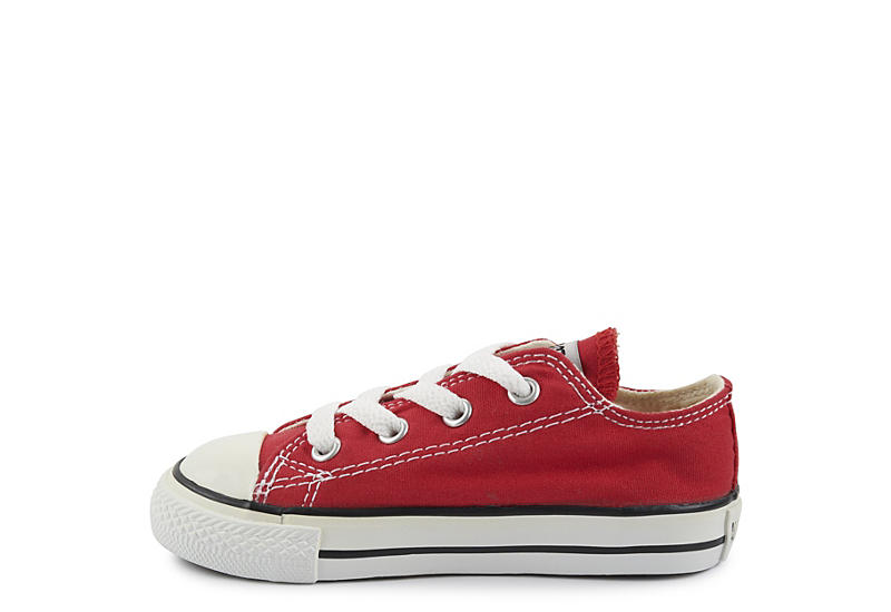 CONVERSE Boys Chuck Taylor All Star Ox - RED