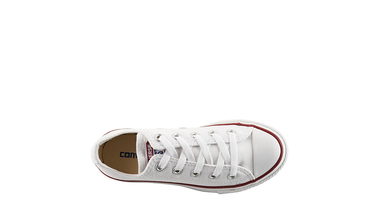 CONVERSE Boys Chuck Taylor All Star Ox Sneaker - WHITE