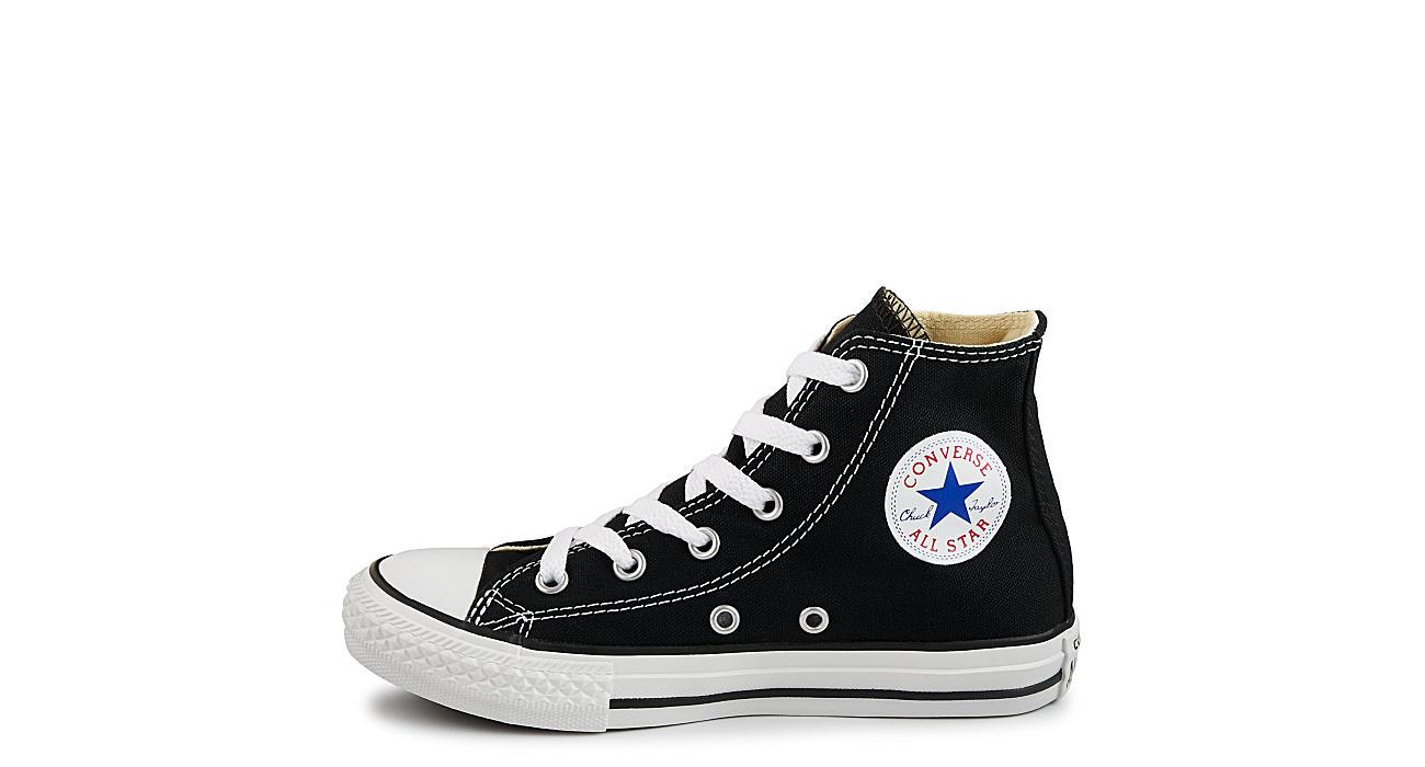CONVERSE Boys Chuck Taylor All Star Hi Top Sneaker - BLACK