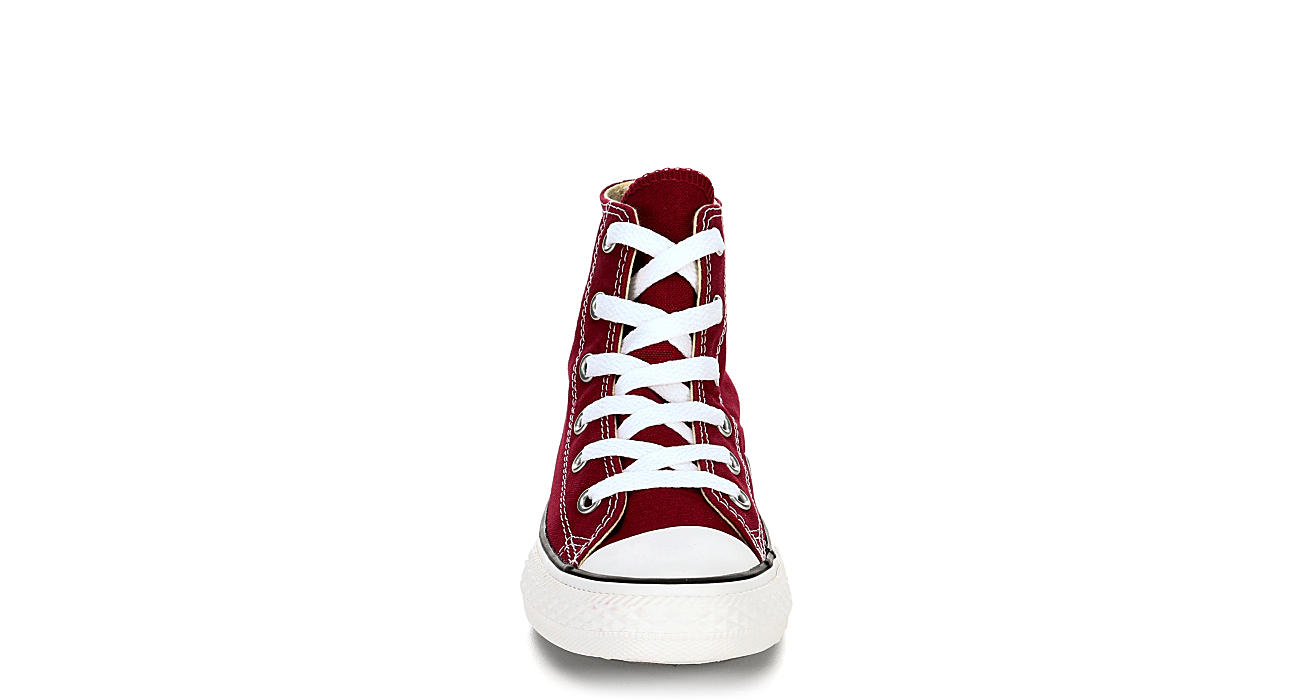 CONVERSE Boys Chuck Taylor All Star Hi - BURGUNDY