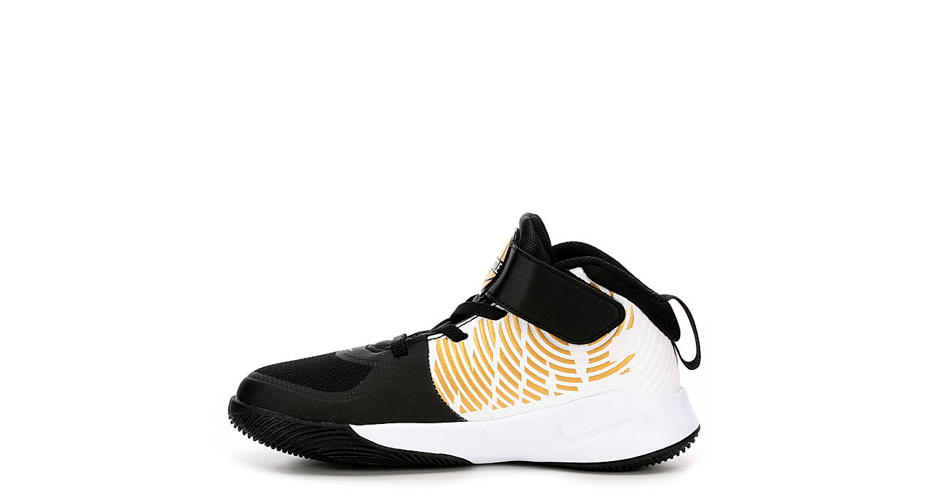 NIKE Boys Hustle D9 Ps - BLACK