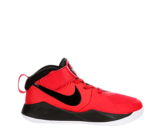 Boys Team Hustle D9 High Top Basketball Shoe