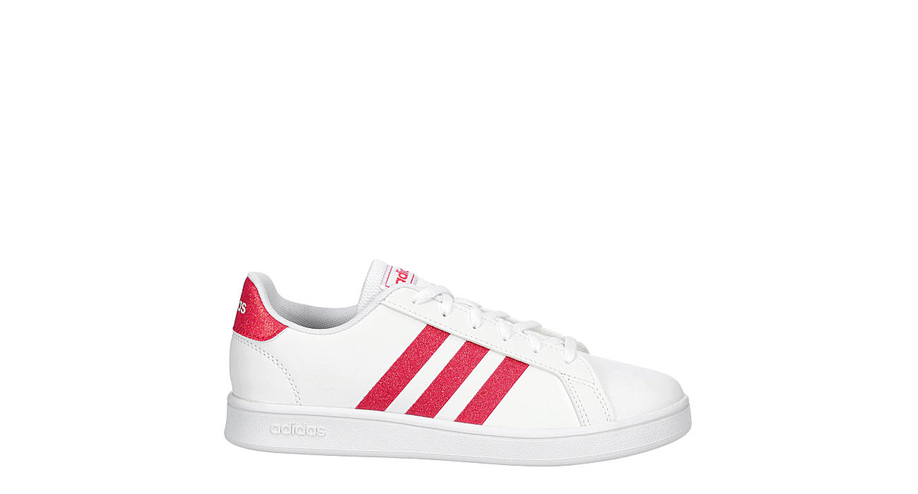 ADIDAS Girls Grand Court - WHITE