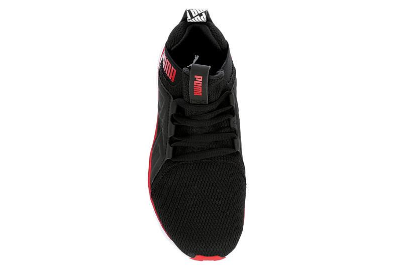 PUMA Boys Enzo Sneaker - BLACK