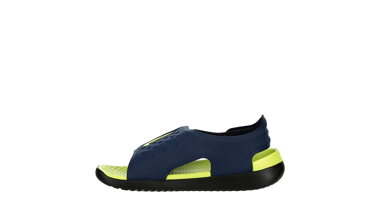 NIKE Boys Sunray Adjust Outdoor Sandal - NAVY