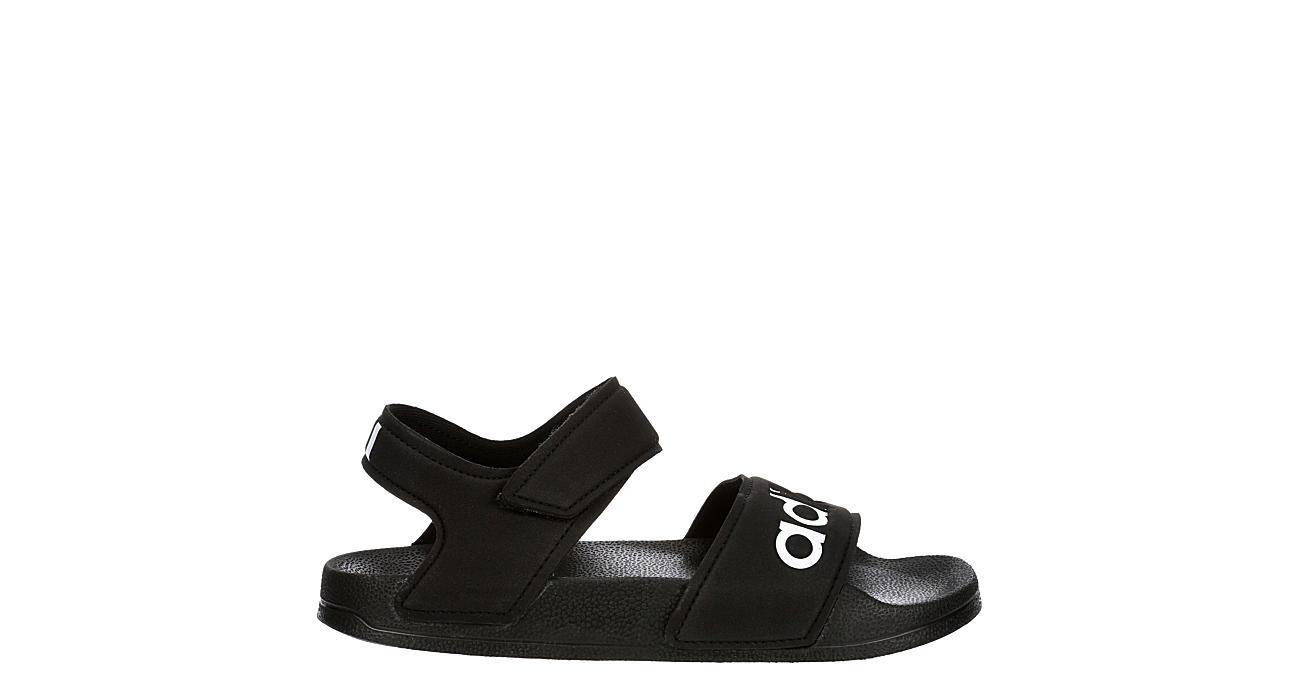 ADIDAS Boys Adilette Outdoor Sandal - BLACK