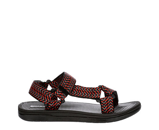 Boys Red Trail Outdoor Sandal