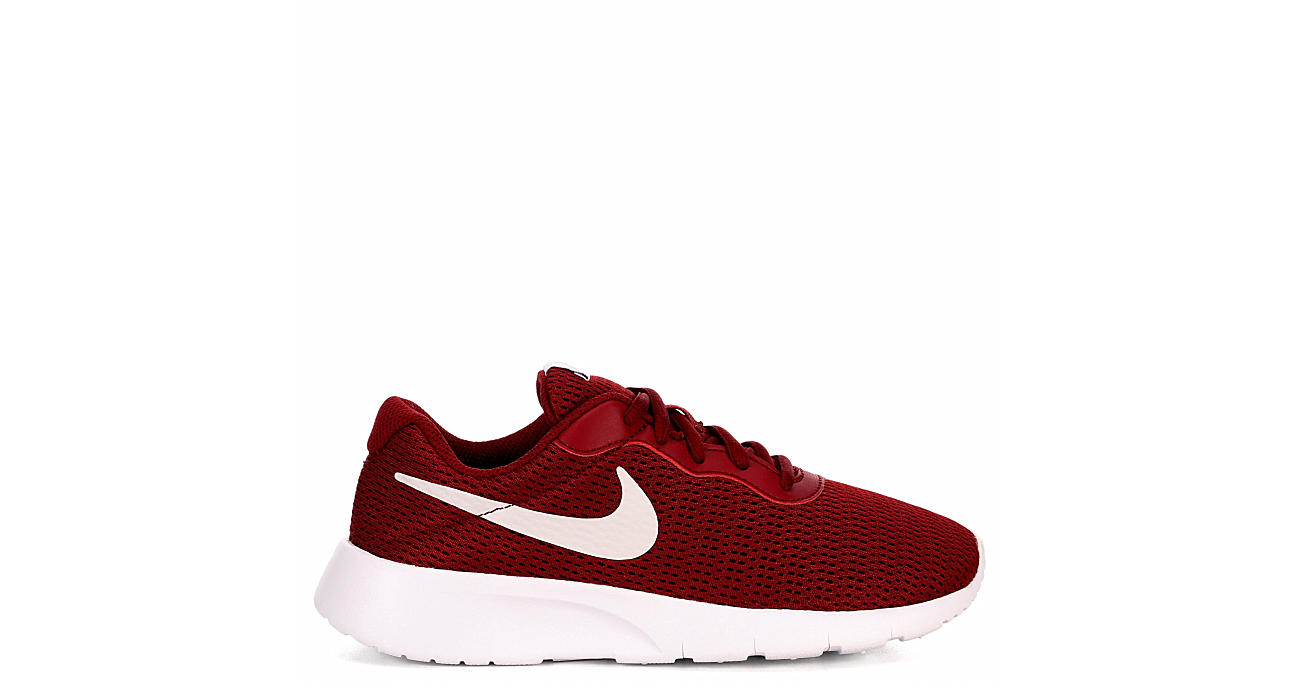 NIKE Boys Tanjun - DARK RED