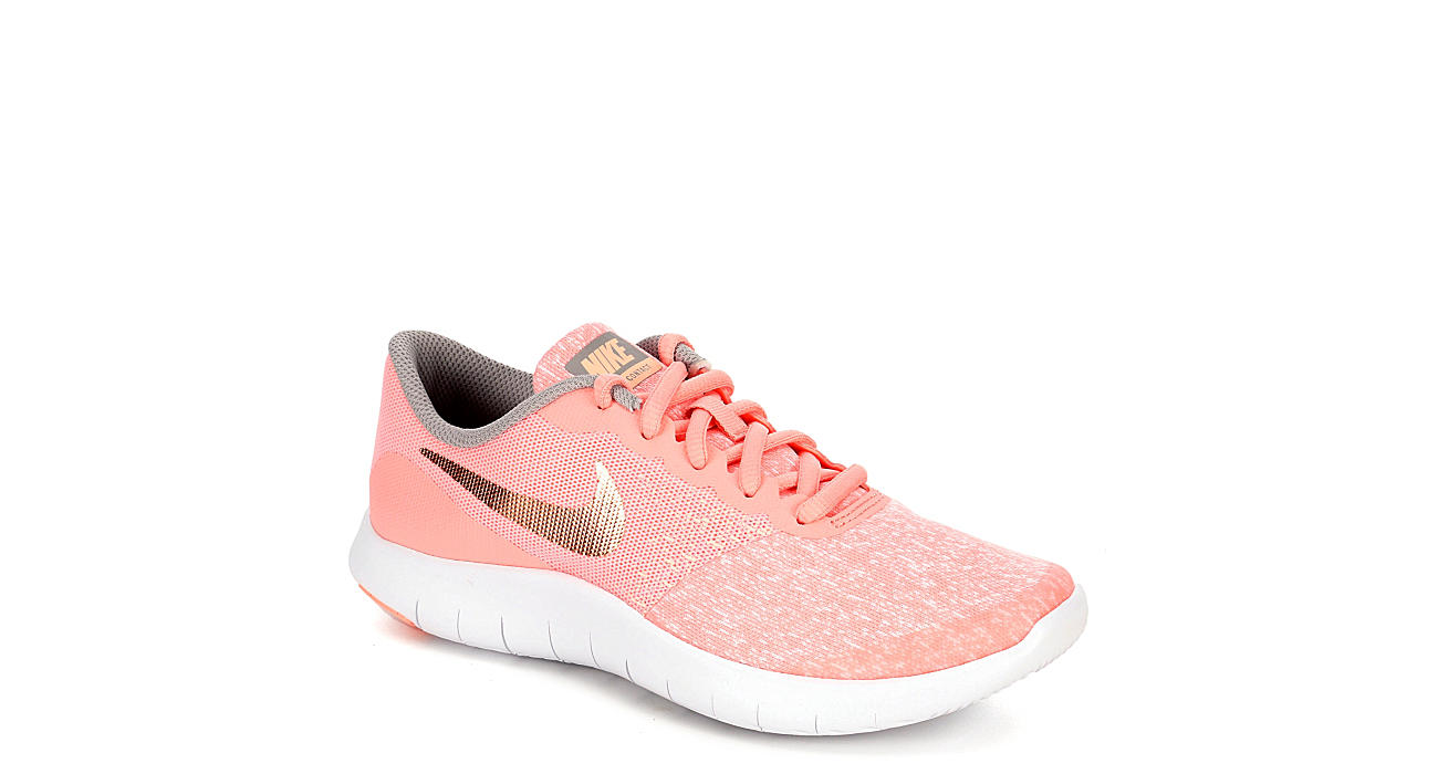 sale retailer d1b77 36720 Nike Girls Flex Contact - Pink