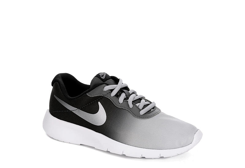 b115c90011214 Grey & Black Nike Tanjun Boys' Running Shoes | Rack Room Shoes