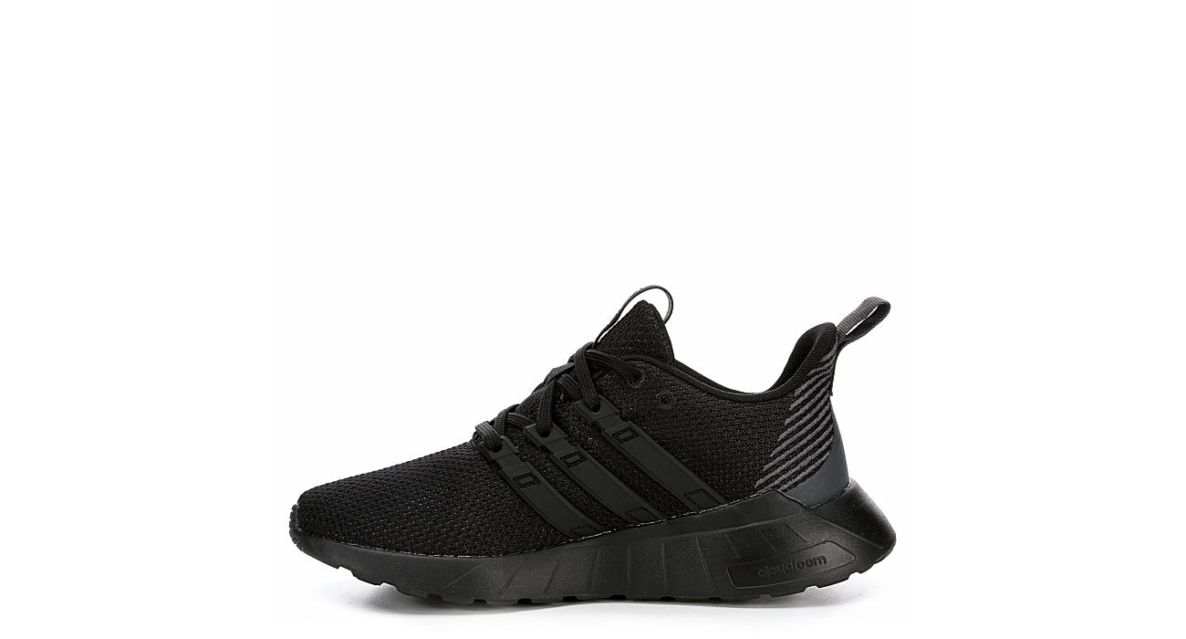 ADIDAS Boys Questar Flow Sneaker - BLACK