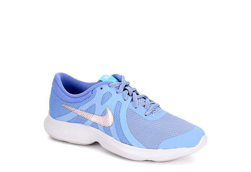 305c0b5c87b70 Pale Blue Nike Girls Revolution 4 Gs