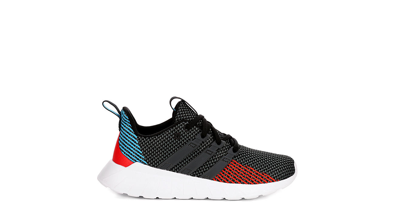 ADIDAS Boys Questar Flow Sneaker - BLACK