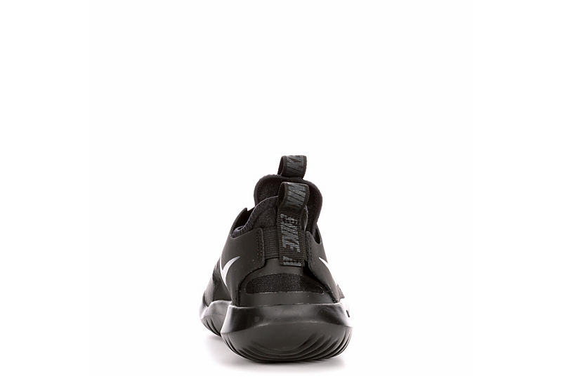NIKE Boys Flex Runner Slip On Sneaker - BLACK