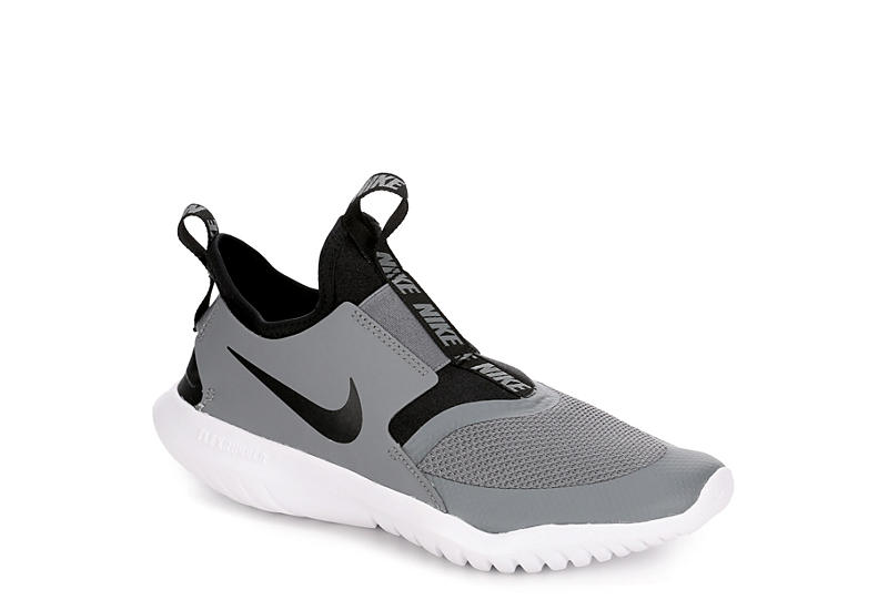 GREY NIKE Boys Flex Runner Gs