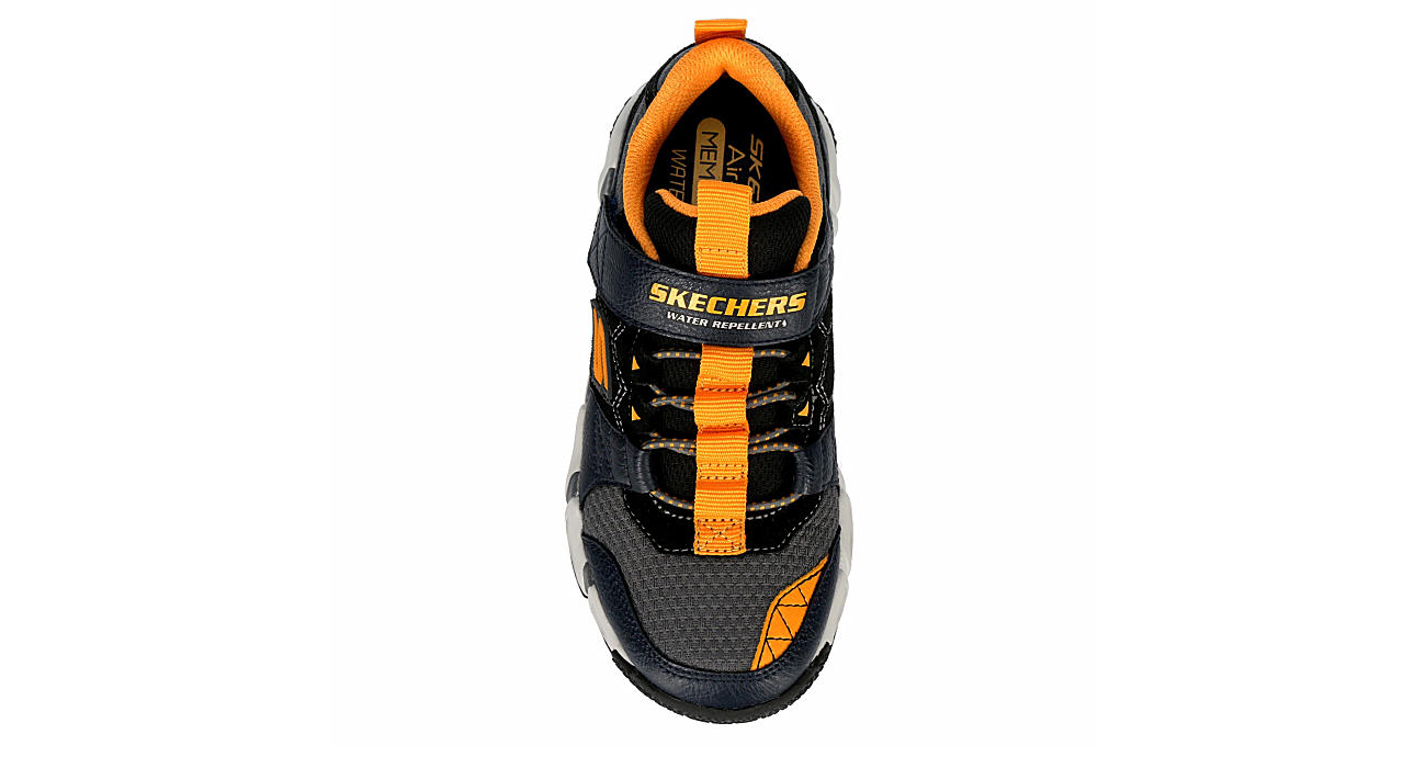 SKECHERS Boys Velocitrek Sneaker - NAVY