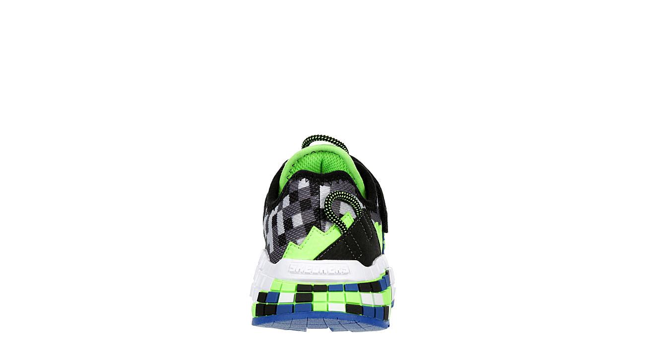 SKECHERS Boys Mega-craft Sneaker - BLACK