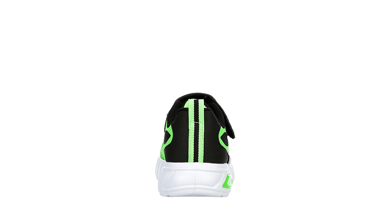 SKECHERS Boys Flex Glow - LIME