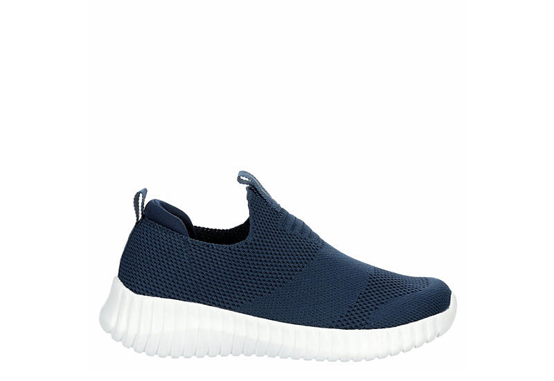 SKECHERS Boys Elite Flex Wasik Slip On Sneaker - NAVY