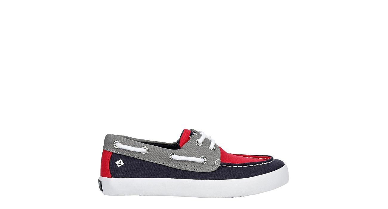 SPERRY Boys Tuck Boat Shoe - GREY