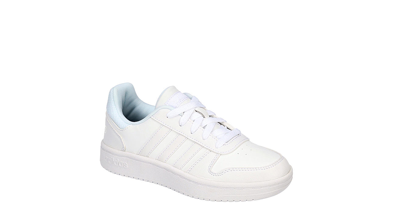 ADIDAS Boys Hoops 2.0 Low - WHITE