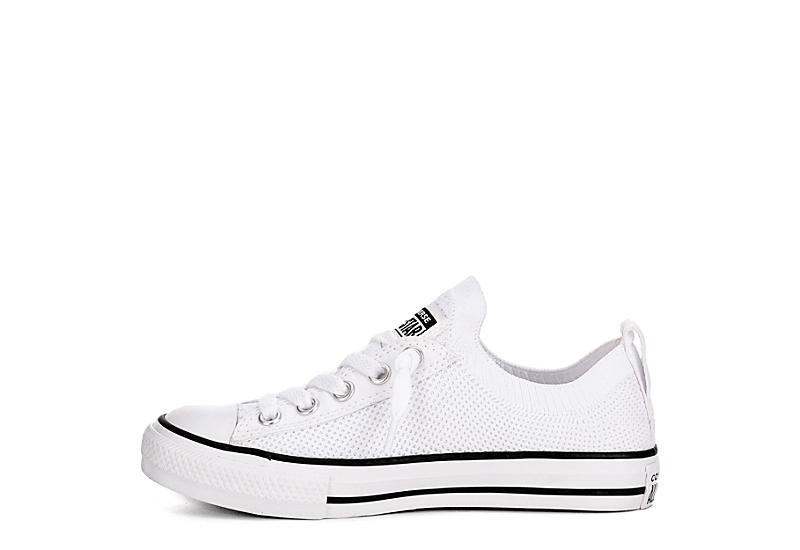 CONVERSE Girls Chuck Taylor All Star Kids Knit Sneaker - WHITE