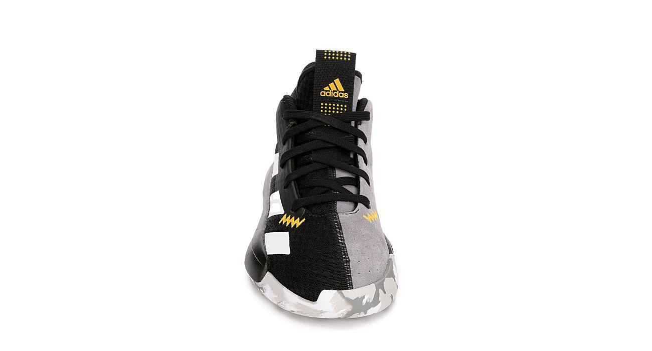 ADIDAS Boys Pro Next High Top Basketball Shoe - BLACK