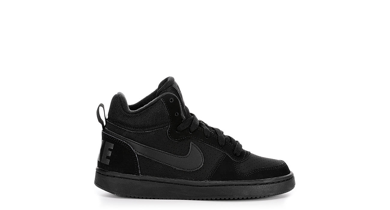 NIKE Boys Court Borough M - BLACK