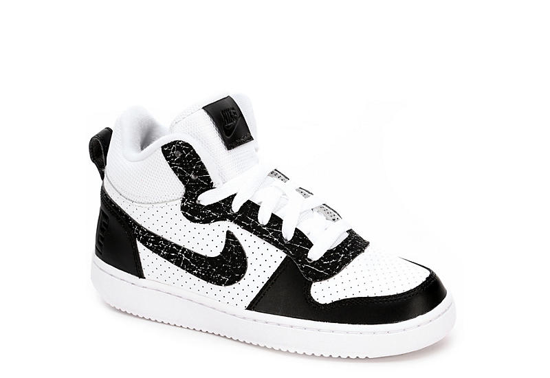 pretty nice e865f 3031f Nike Boys Court Borough Mid Print