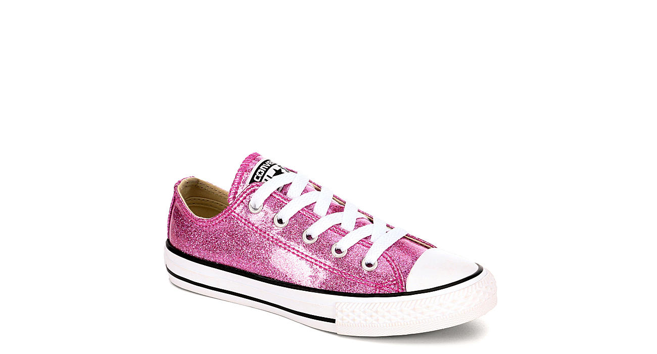 bf470a02166 Converse Girls Chuck Taylor All Star Glitter Ox - Bright Pink