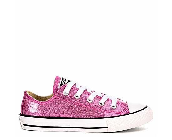 Girls Chuck Taylor All Star Glitter Ox