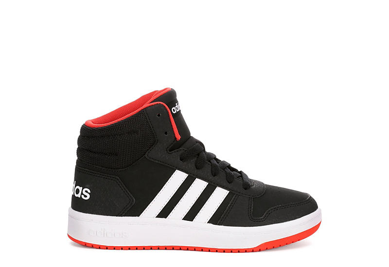 ADIDAS Boys Hoops 2.0 Mid - BLACK