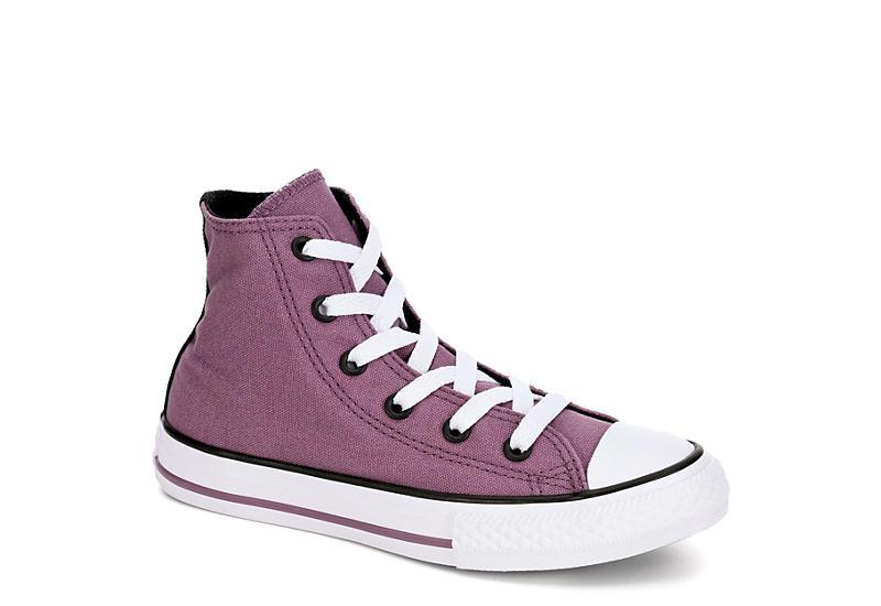 05a355c06250 Converse Girls Chuck Taylor Seasonal Hi Top - Purple