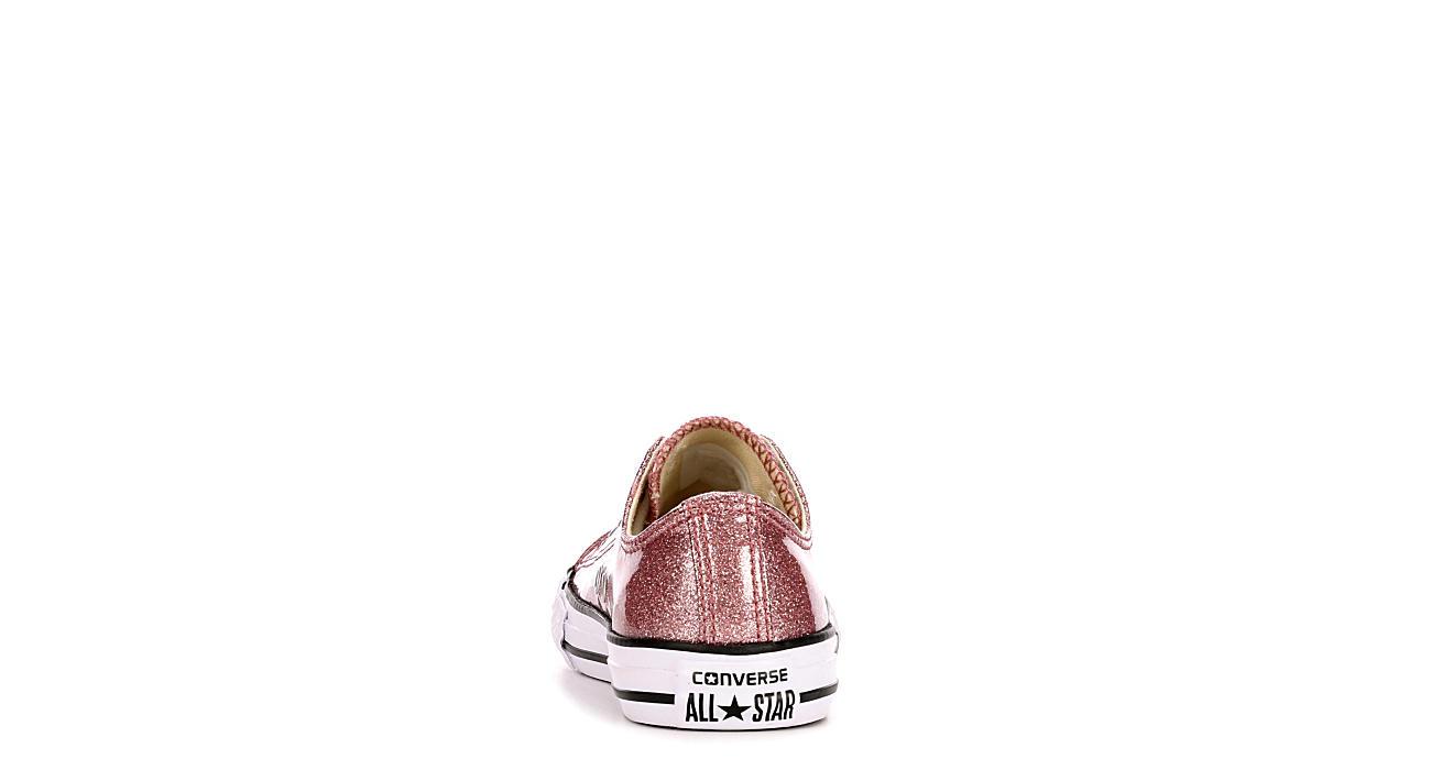 bcb82485cfd Rose Gold Converse Glitter Girls  Sneakers