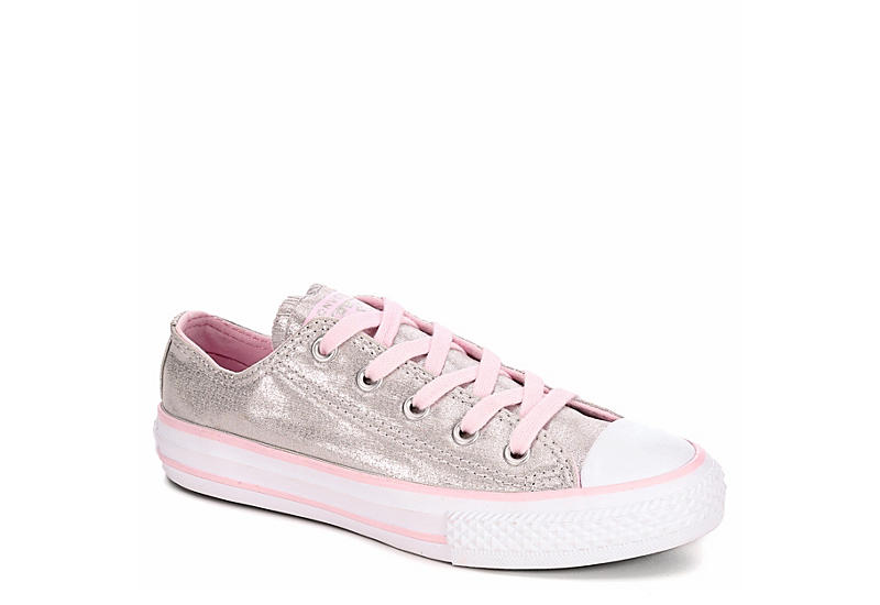CONVERSE Girls Chuck Taylor All Star Twilight Court Ox - GREY