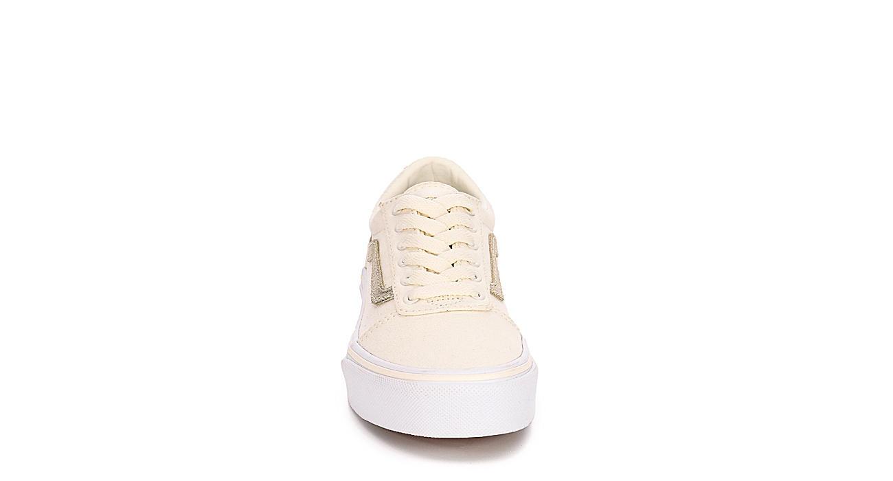 VANS Girls Ward Sneaker - OFF WHITE