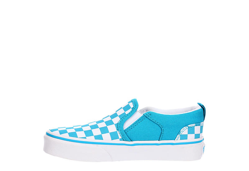 VANS Girls Asher Slip-on - TURQUOISE