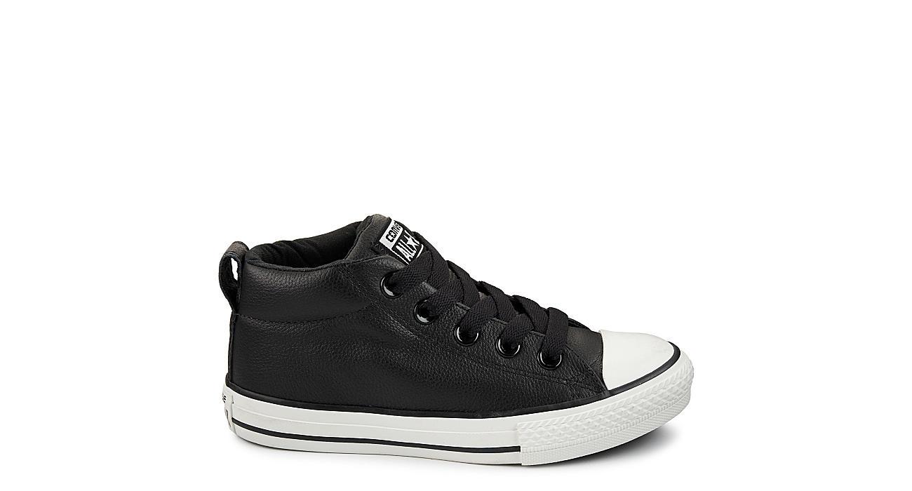 0d76049e90d Converse Boys Chuck Taylor All Star Street Mid - Black