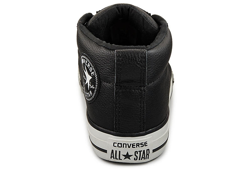 408a55e31557 Converse Boys Chuck Taylor All Star Street Mid - Black
