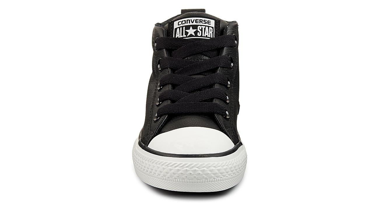 214abda8ba9 Converse Boys Chuck Taylor All Star Street Mid - Black
