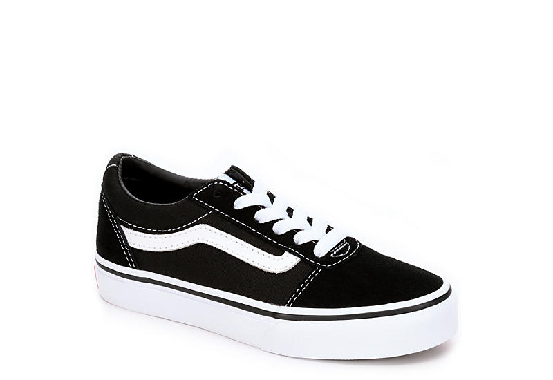 f02b15836499c Black Vans Ward Boys  Low Top Sneakers
