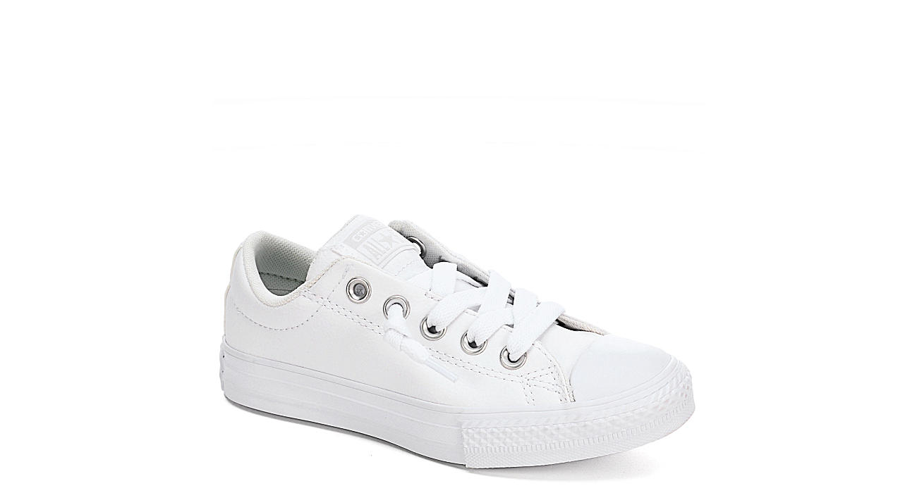 CONVERSE Boys Chuck Taylor All Star Street Slip - WHITE