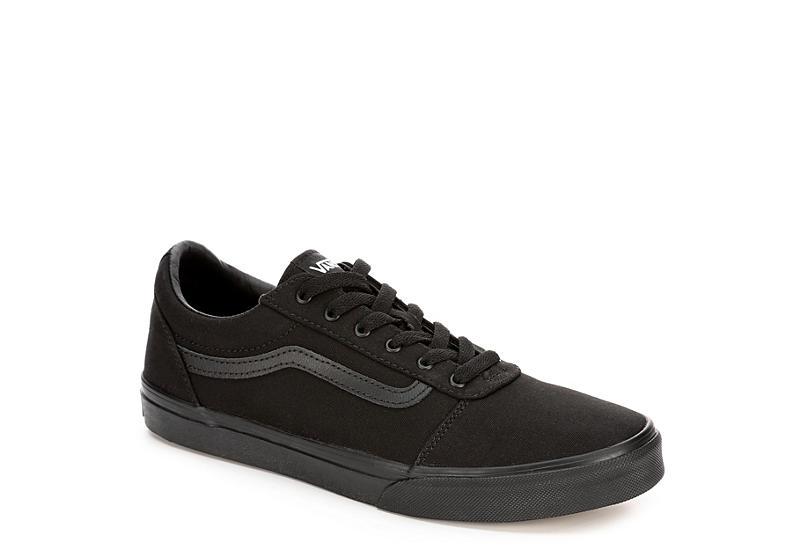 vans low all black