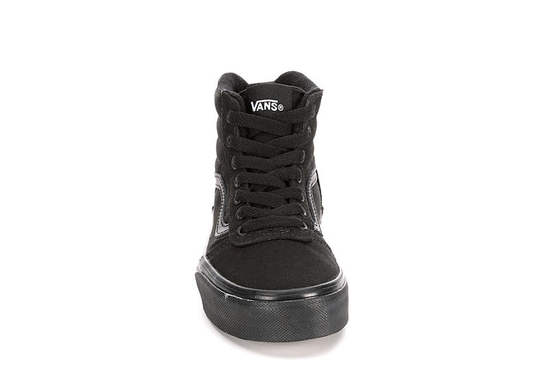 VANS Boys Ward Hi - BLACK