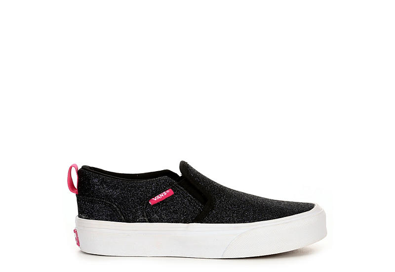 VANS Girls Asher - BLACK