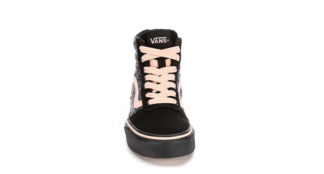 VANS Girls Ward Hi - BLACK