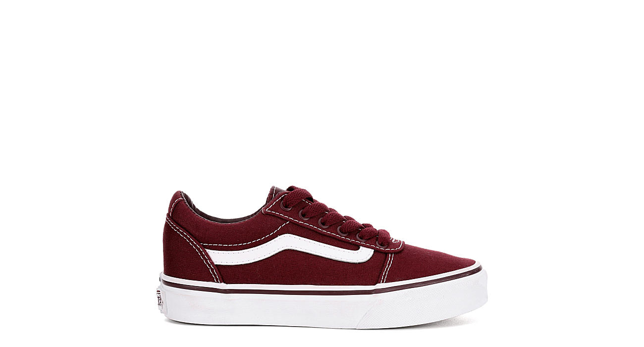 VANS Boys Ward - BURGUNDY